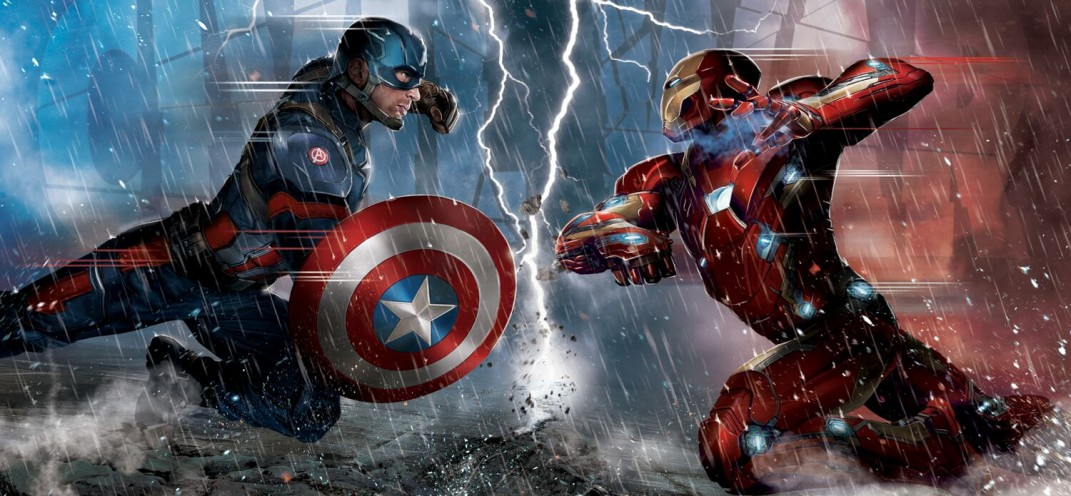 The first Captain America: Civil War trailer is here