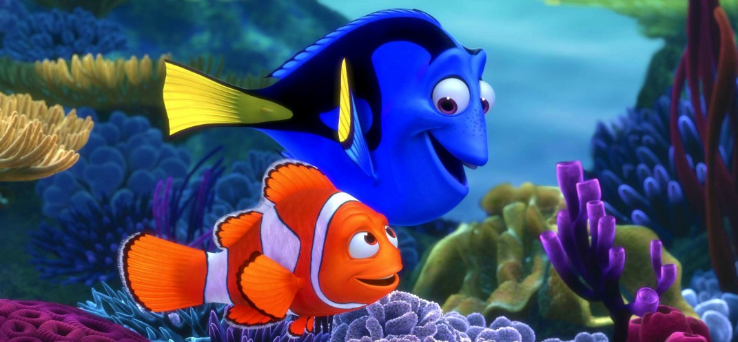The first trailer for Finding Dory swims in